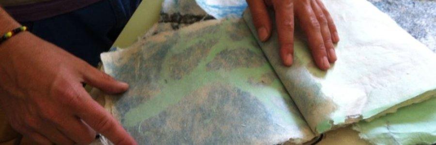 Taller de verano: Creación artesanal de papel
