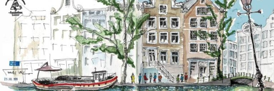 Urban Sketchers, primer encuentro Mediterráneo