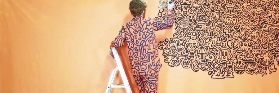 Mr Doodle, el artista obsesivo-compulsivo