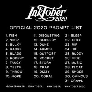 totenart-inktober-2020