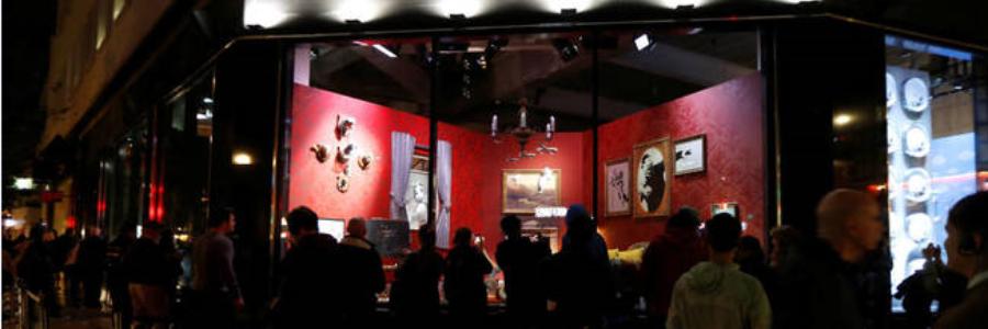 Banksy: la tienda «oficial» del artista