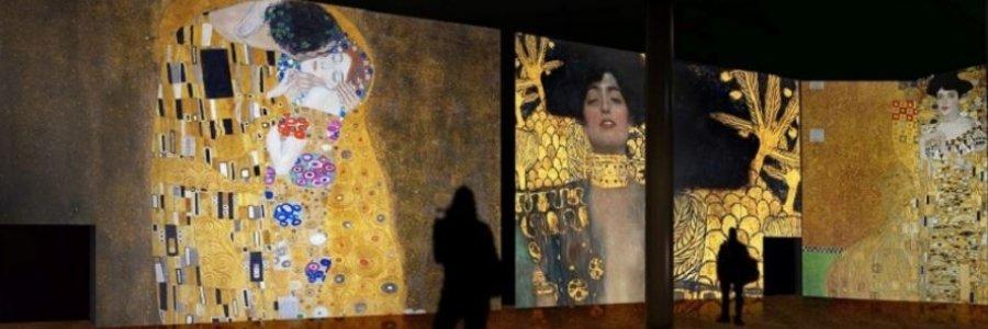 La exposición inmersiva de Gustav Klimt