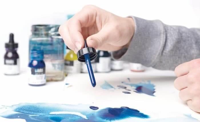 como-usar-la-tinta-acrilica-liquitex-fluidas