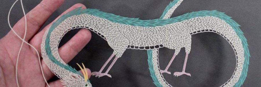 Kirigami o cómo cortar papel con arte