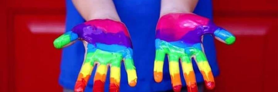 Cómo pintar con las manos