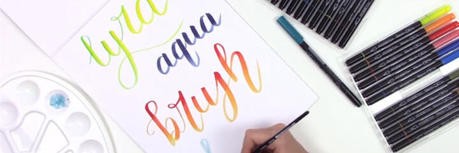 Taller de Lettering con rotuladores Lyra