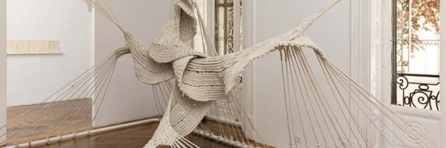 Aurèlia Muñoz la exposición de arte textil