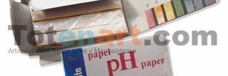 Tiras medidoras de PH. Forma de uso