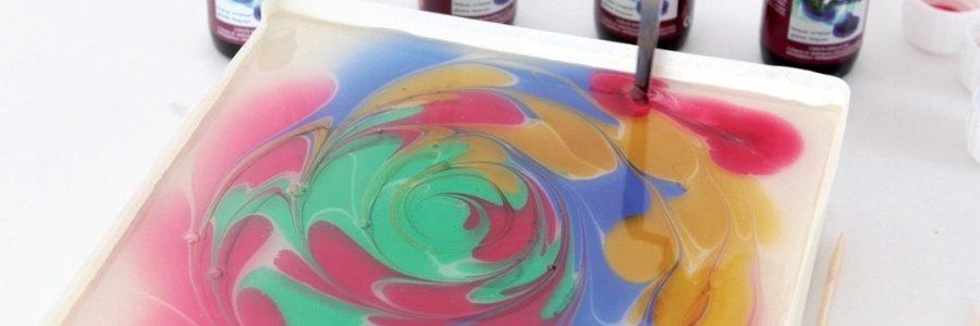 Protege tus obras de arte en 4 pasos: técnica marmolizado