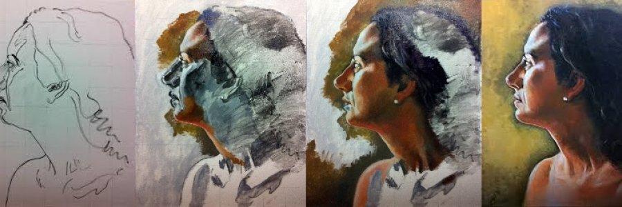 Cómo pintar con grisalla