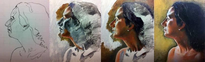 Cómo Pintar Con Grisalla Tutoriales Arte De Totenart