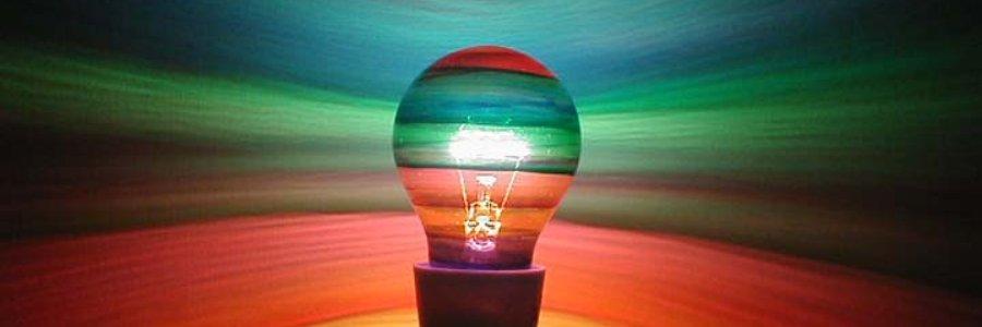 Como pintar bombillas, paso a paso