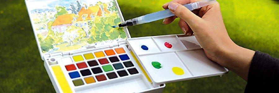 Cómo pintar con pinceles rellenables