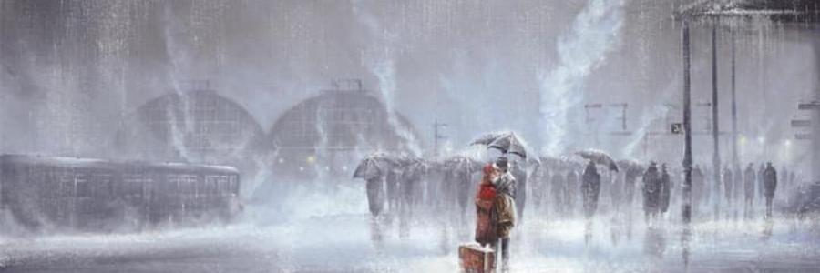 Cómo pintar lluvia: 4 Trucos para empezar