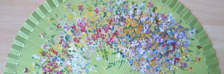 Cómo pintar abanicos (Vídeos)
