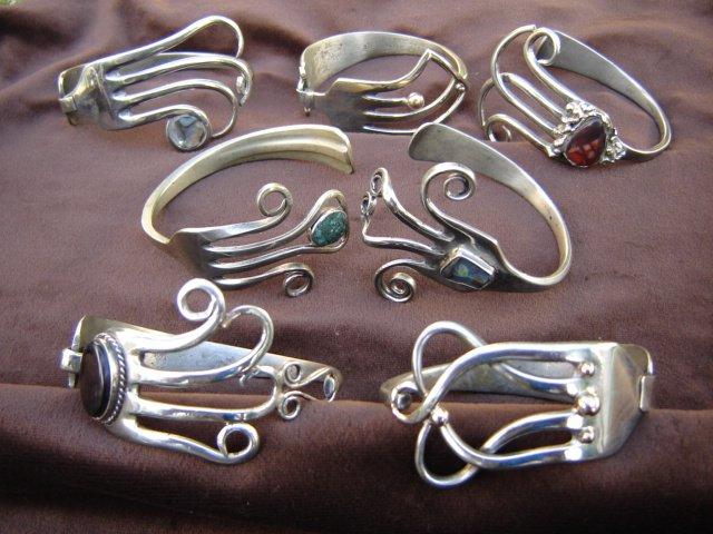 Haz joyas con cubiertos que no utilizas tutoriales arte for Pulsera tenedor