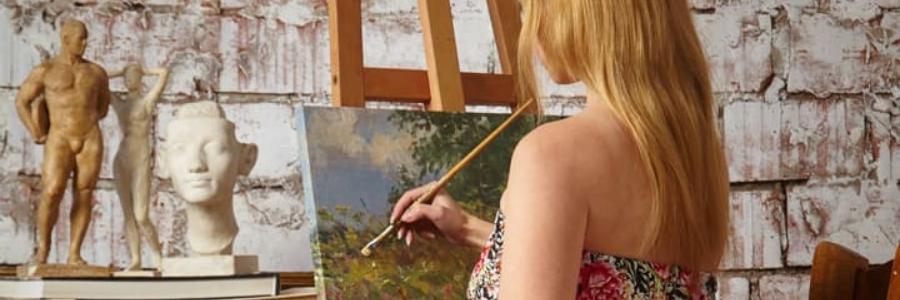 Cómo elegir caballete para pintura
