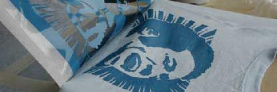 Como personalizar tus camisetas (stencil y spray)