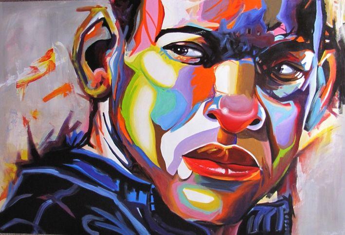 C mo pintar pop art con acr lico tutoriales arte de totenart - Pintar con acrilicos paso a paso ...