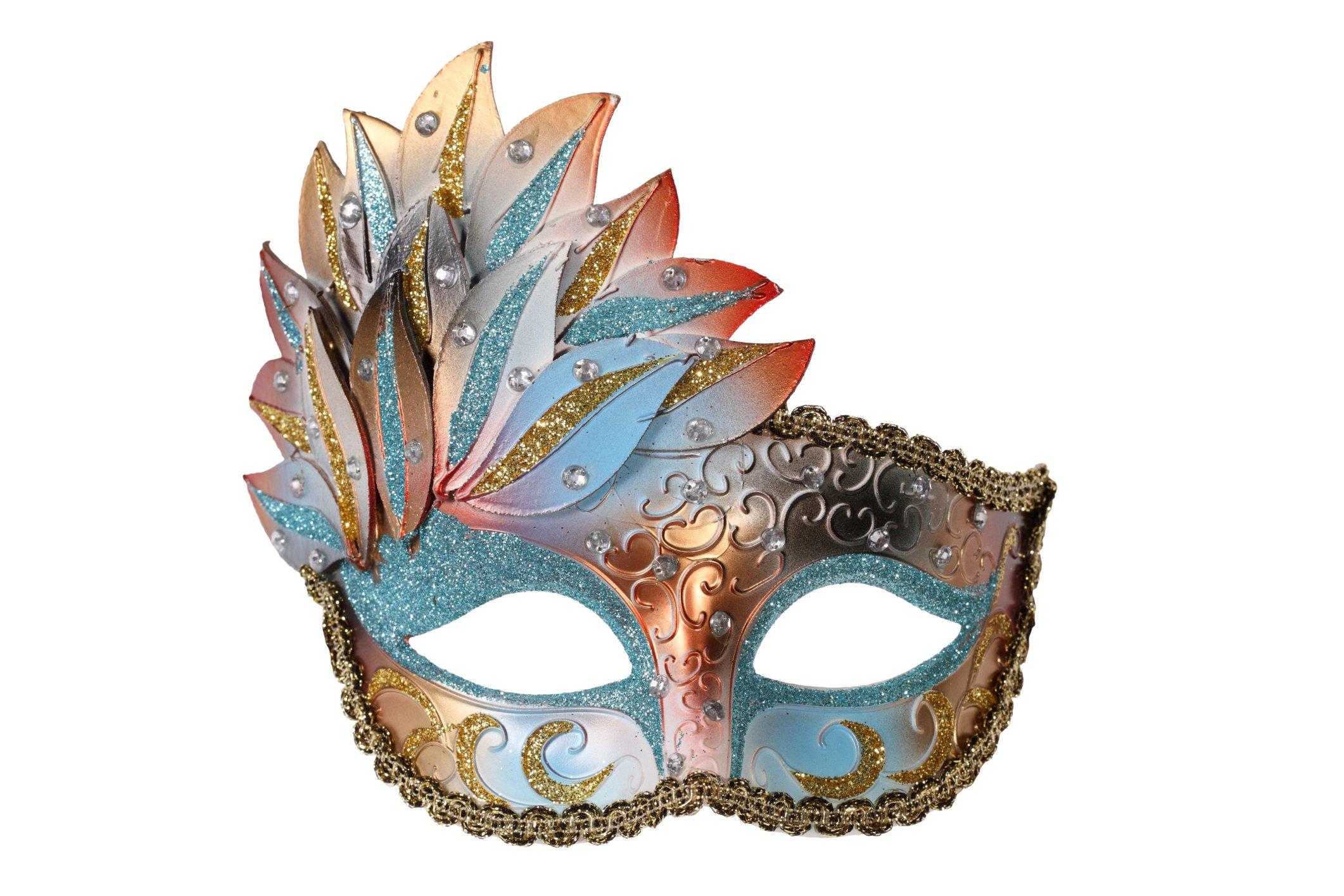 Cómo hacer mascaras para Carnaval - Tutoriales arte de Totenart