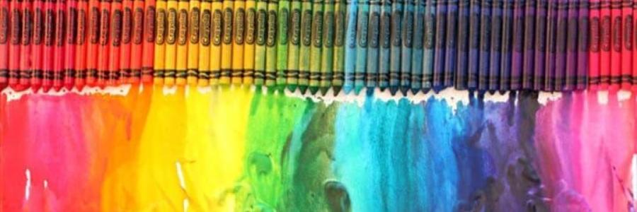 Cómo hacer dripping con crayones