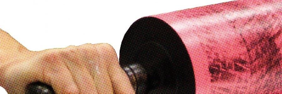 Tutorial de Grabado calcográfico Roll-UP o técnica de Hayter