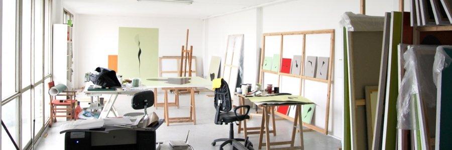5 pasos para tener estudio de arte en orden