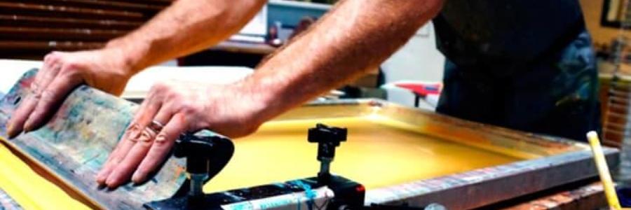 Cómo iniciarse en serigrafía textil