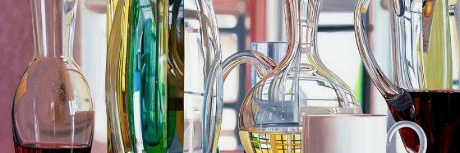 Cómo pintar cristales en óleo