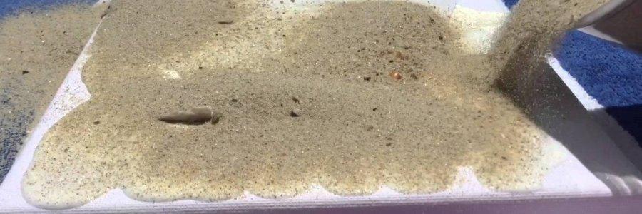 Cuadros con arena de playa en 5 pasos