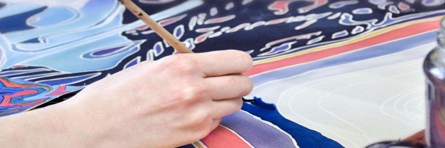 Convierte pintura acrílica en pintura textil