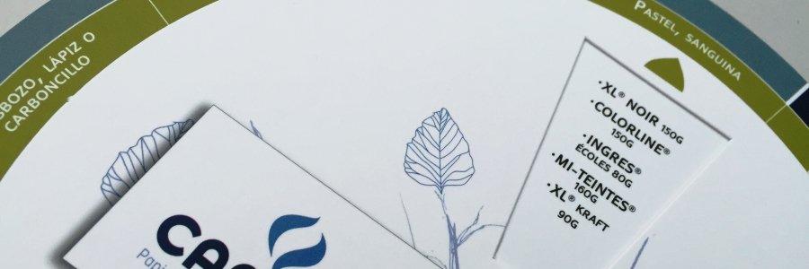 Guía de papeles para dibujar de Canson