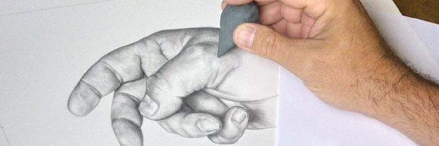 Cómo dibujar con miga de pan