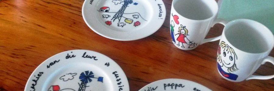 Cómo pintar en cerámica y vidrio