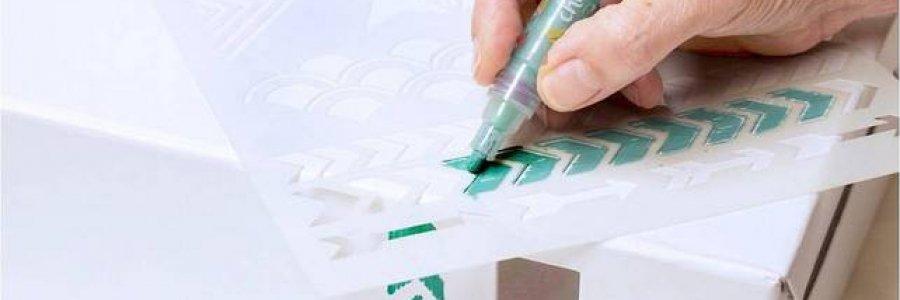 Cómo trabajar con rotuladores Chalk paint
