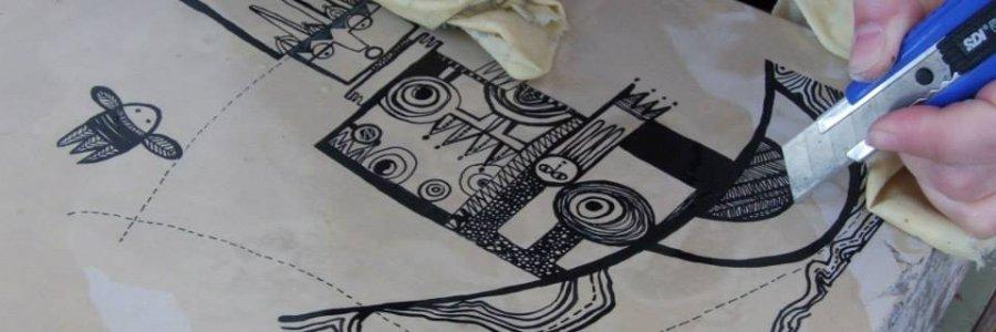 Cómo reparar litografías dañadas