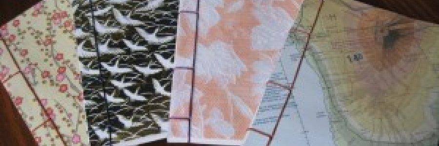 Costura en encuadernación japonesa
