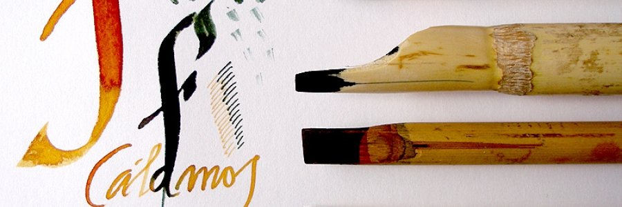 Cómo utilizar la plumilla de bambú – Con Vídeo