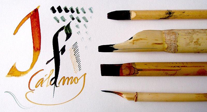 C mo utilizar la plumilla de bamb con v deo tutoriales arte de totenart - Como se planta el bambu ...