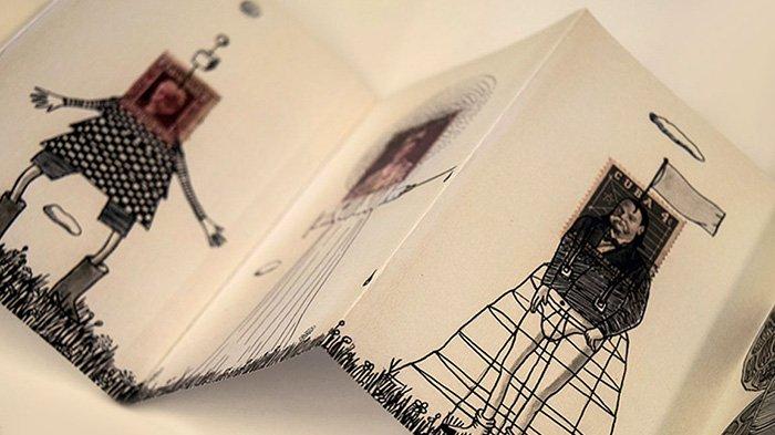 Como hacer un libro de artista - Tutoriales arte de Totenart