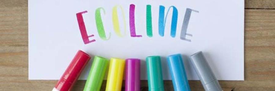 Caligrafía con rotulador Ecoline