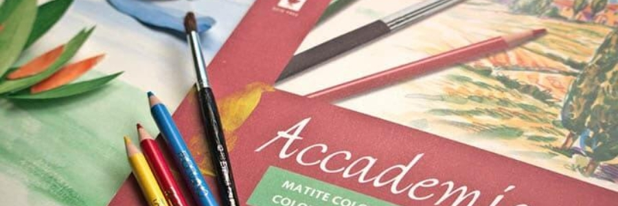 Usos del papel Fabriano Accademia 350gr