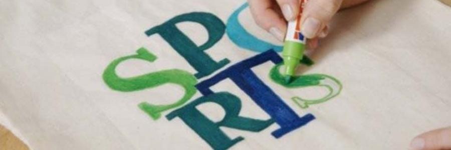 Rotuladores para tela: Cómo pintar bolsos