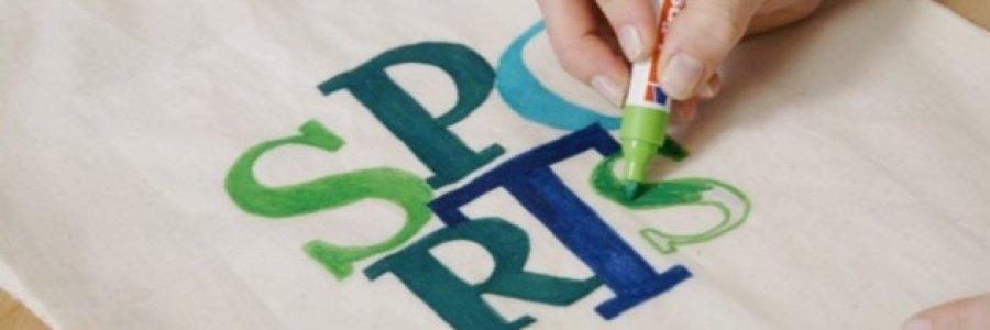 Cómo pintar bolsos en 5 pasos con rotuladores textiles Edding