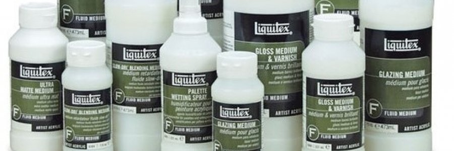 Como usar el Medium Barniz Liquitex