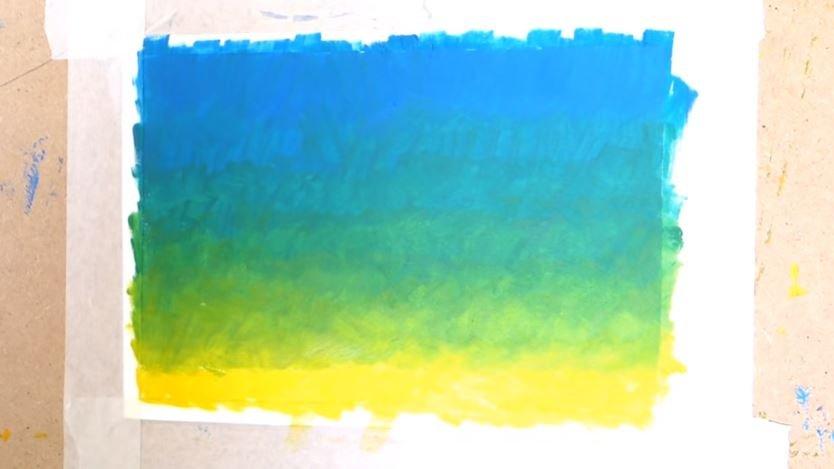 Cómo Pintar Un Degradado Con óleo Tutoriales Arte De Totenart