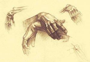 totenart-cómo-dibujar-manos