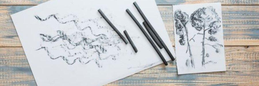 Cómo dibujar con carboncillo
