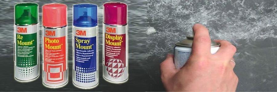 Cómo usar el Adhesivo en Spray 3M