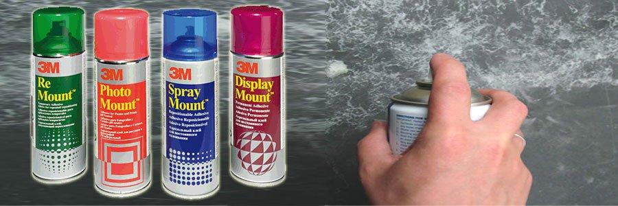 Cómo usar el Adhesivo en Spray 3M?